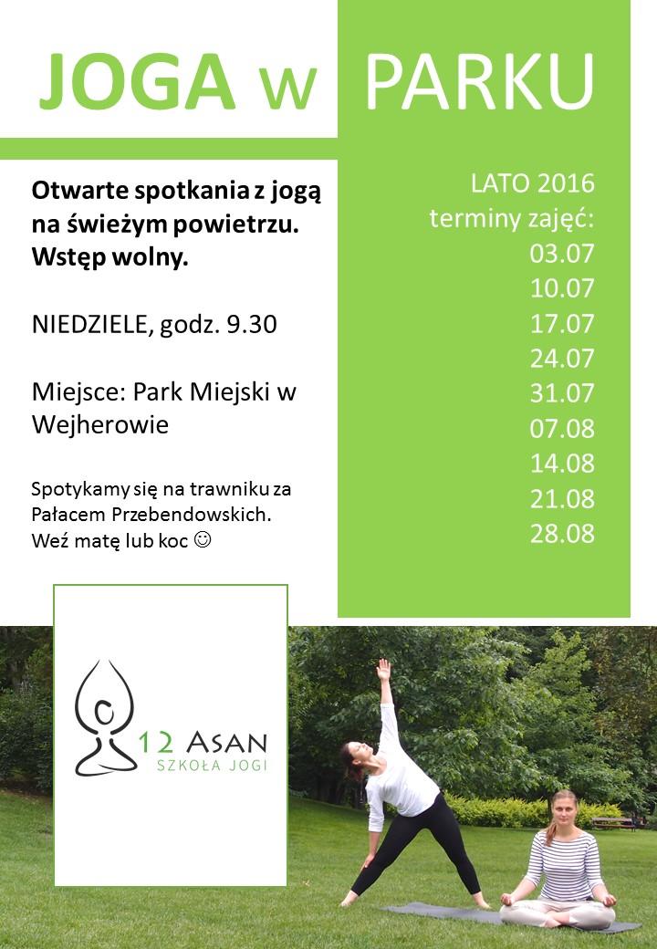 plakat joga w parku3